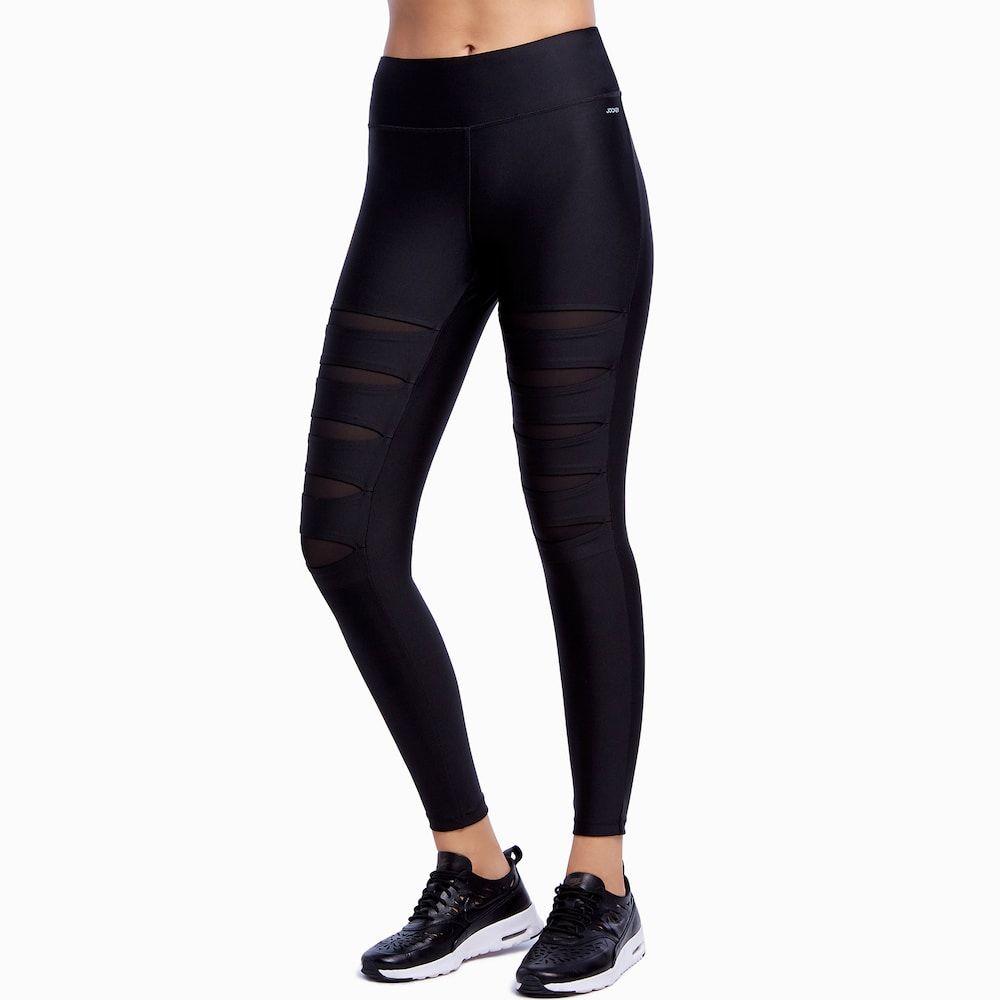 84484d7535e23 Women's Jockey Sport Slashdance Ankle Leggings, Size: Medium, Oxford