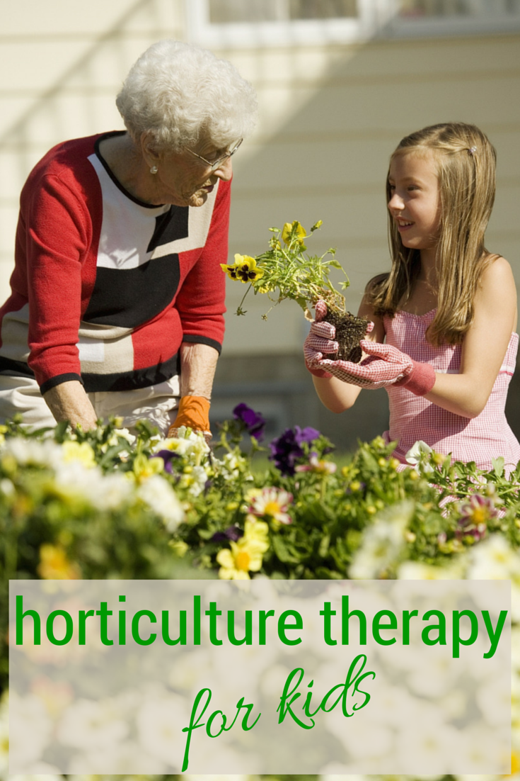 adults Horticulture therapy older