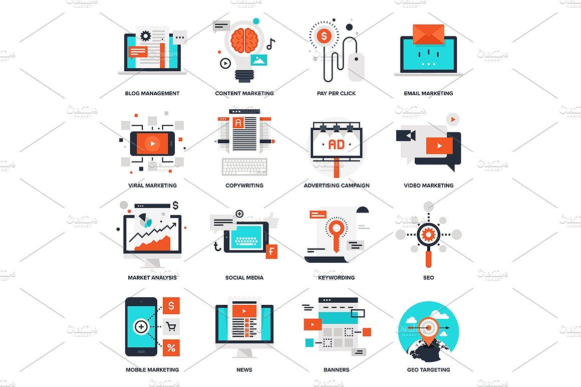 Digital Marketing Digital Marketing Marketing Copywriting Marketing Icon