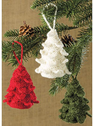 O Christmas Tree Ornament Pattern Knitting Christmas Pinterest