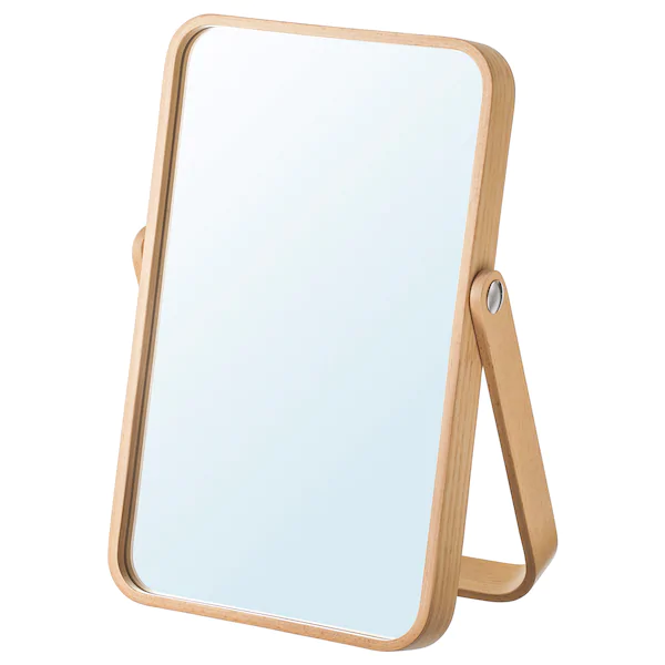 Ikornnes Table Mirror Ash 10 5 8x15 3 4 Ikea In 2020 Mirror Table Lacquered Mirror Mirror