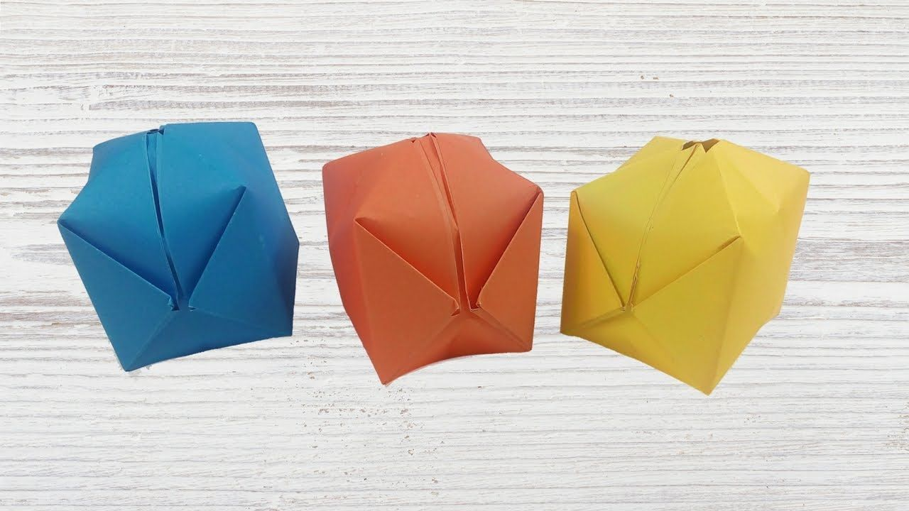 Step by step instructions how to make origami A Balloon. - Buy ... | 720x1280