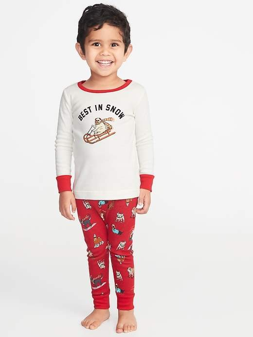 fe18150f83c Old Navy Holiday-Graphic Sleep Set for Toddler   Baby