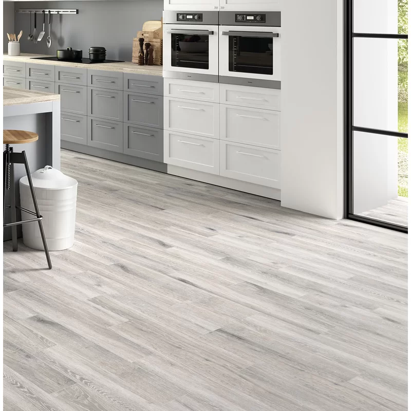 "Antoni 6"" x 36"" Porcelain Field Tile in 2020 Grey wood"