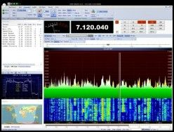 PowerSDR application receiving SDR stations | Amateur Radio