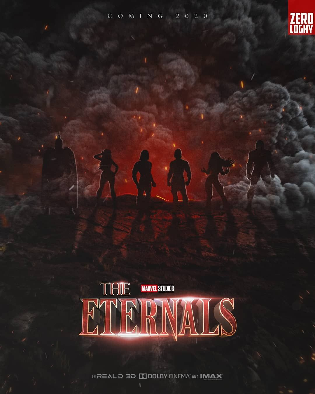 Image result for marvel eternals art posters