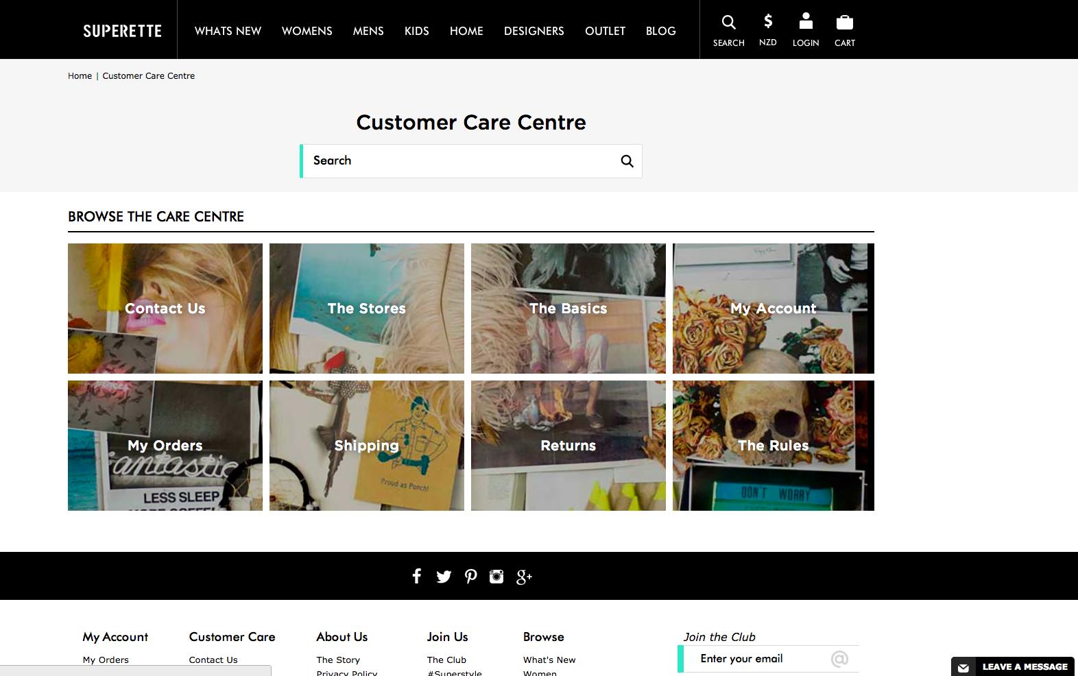 Superette New Zealand Fashion Customer Care Zendesk