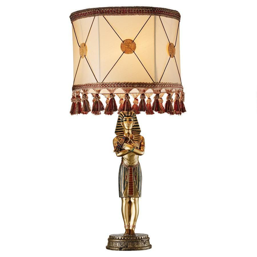 King Tutankhamen\u0027s Sculptural Table Lamp | Everything Egyptian And ...