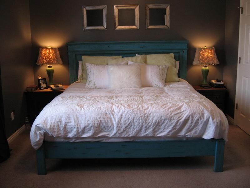 Fancy Diy King Size Bed Frame | Home sWeet hoMe! | Pinterest