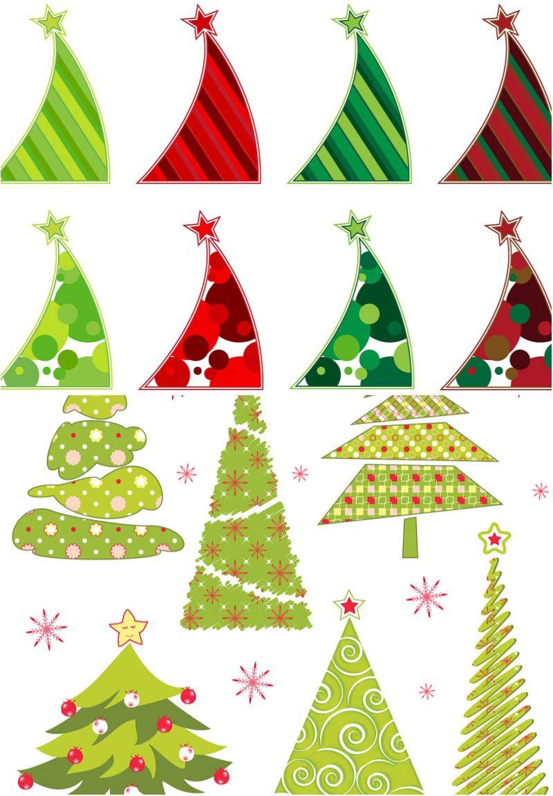 Abstract Christmas Tree Vector Christmas Tree Images Vector Free Christmas Tree Silhouette