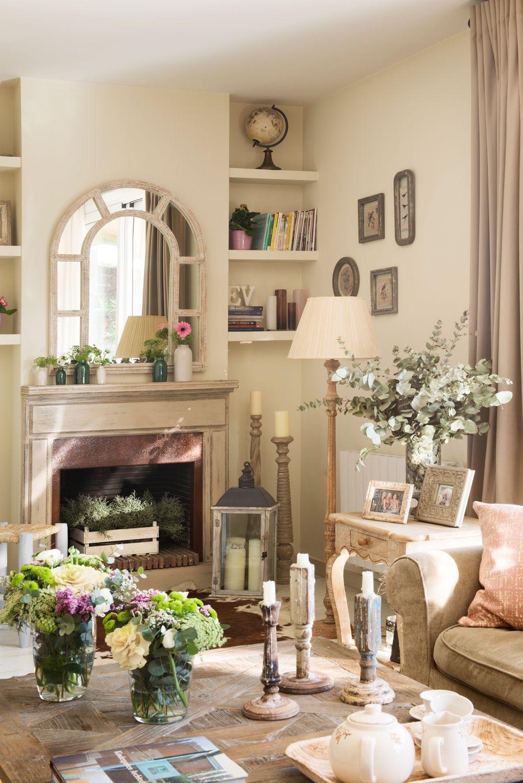 Verde y m s verde en 2019 decorar chimeneas decoracion - Detalles de decoracion para casa ...