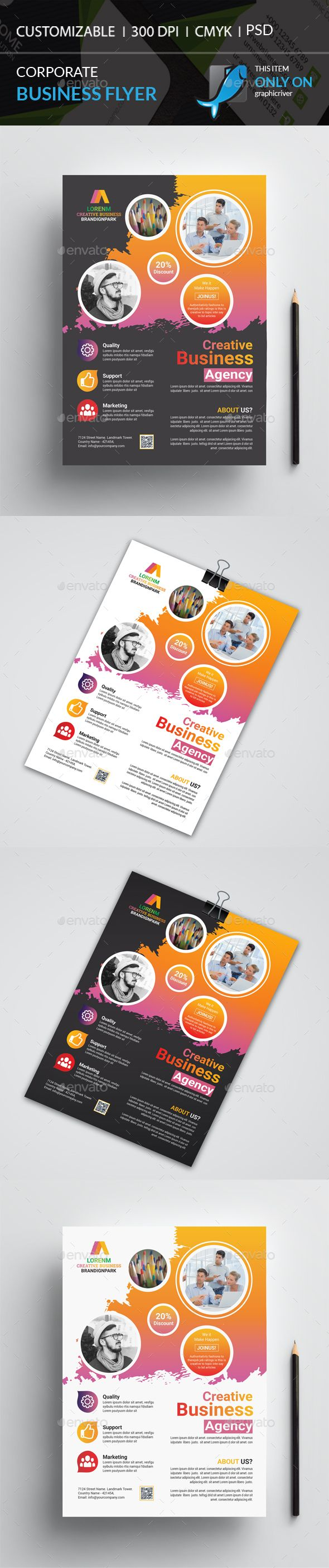 Corporate Flyer Flyers Print Templates (With images