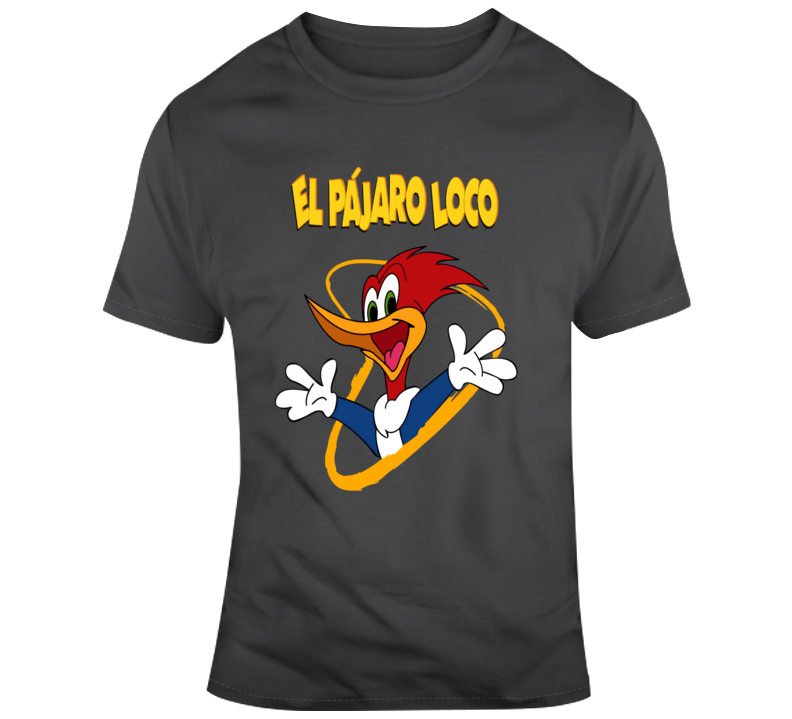El Pajaro Loco T Shirt Cotton Tshirt Mens Tops Shirts