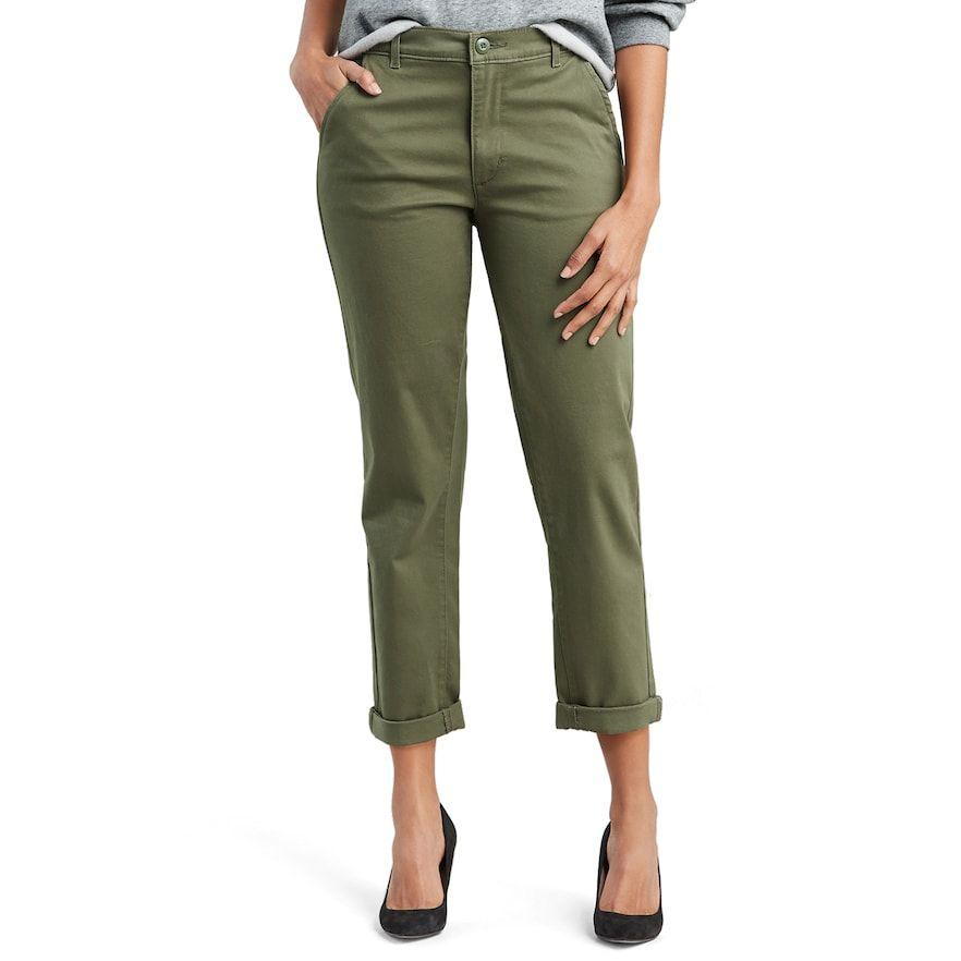 e651466e691 Women's Levi's Classic Chino Cuffed Pants | Products | Cuffed pants ...