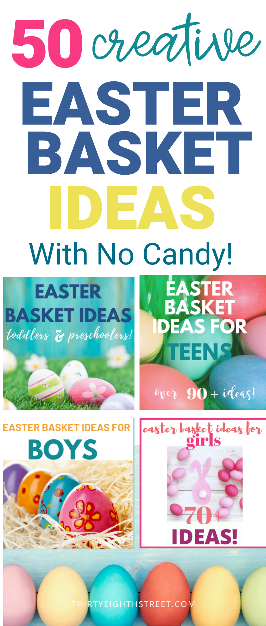 No Candy Easter Egg Filler Ideas For Kids Creative Easter Baskets Girls Easter Basket Easter Baskets For Toddlers