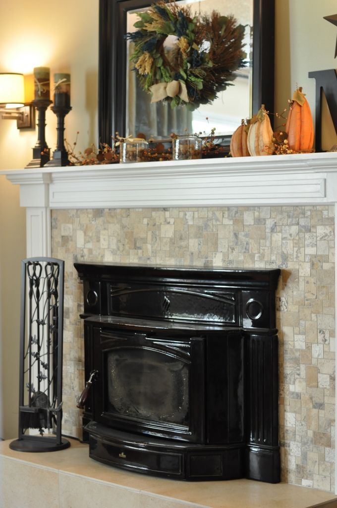 Fireplace Mantle Project at www.cranberrytwigs.wordpress.com