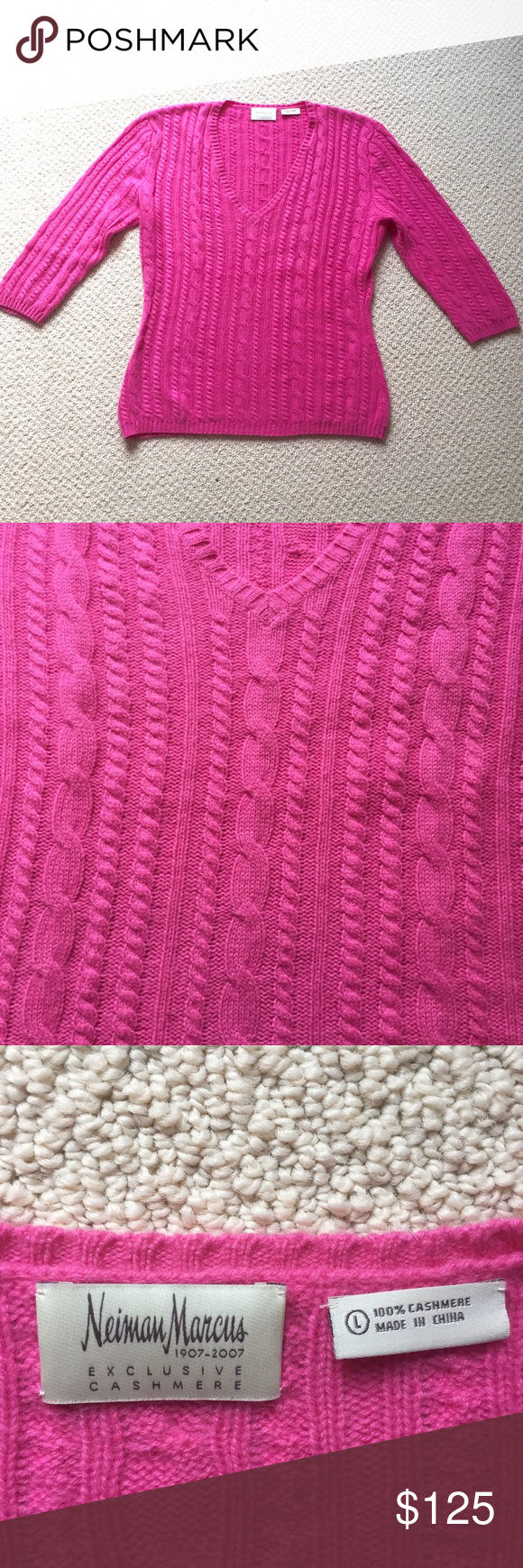 Like new Neiman Marcus Cashmere Sweater | Nice, Cashmere sweaters ...