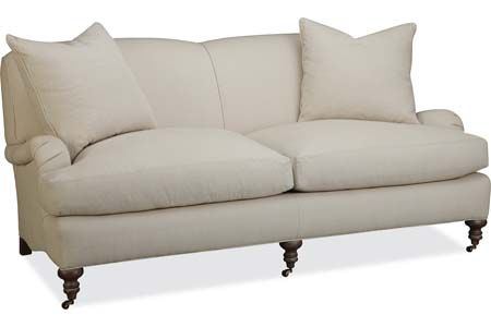 Lee Industries 3278 11 Apartment Sofa Overall W73 D42 H34 Inside