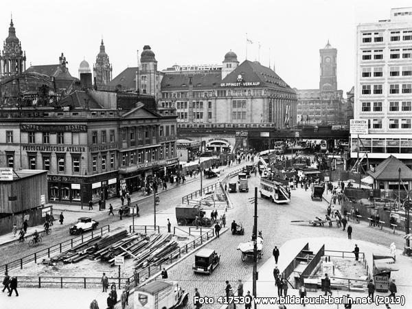 Umgestaltung Des Alexanderplatzes Berlin Geschichte Historische Bilder Bilder