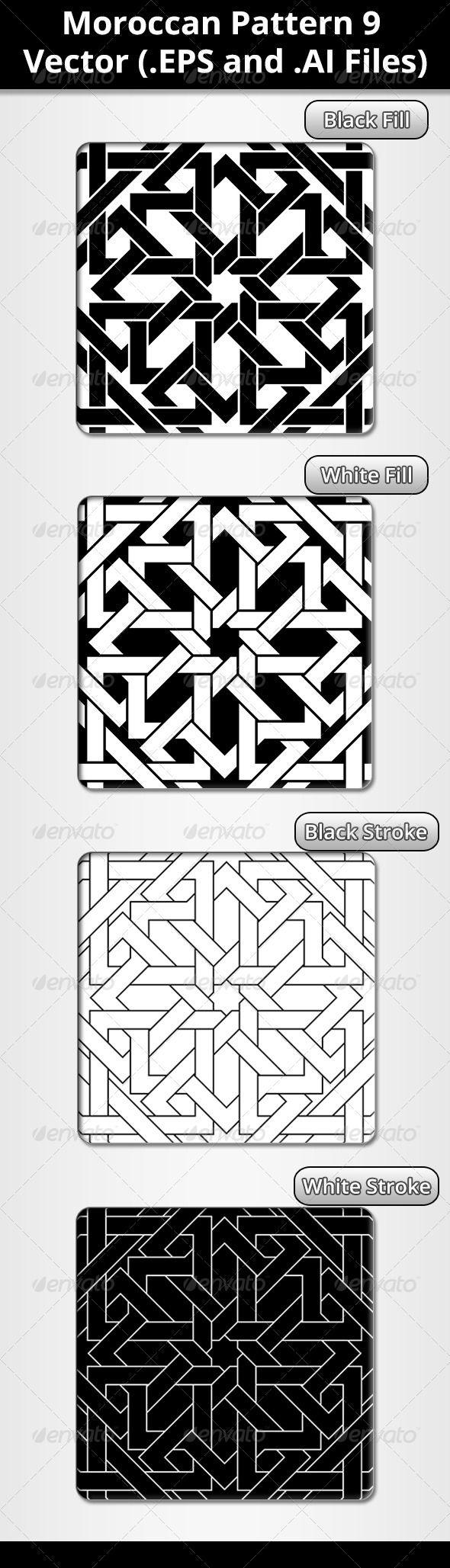 Moroccan Pattern | Moroccan pattern, Moroccan and Patterns