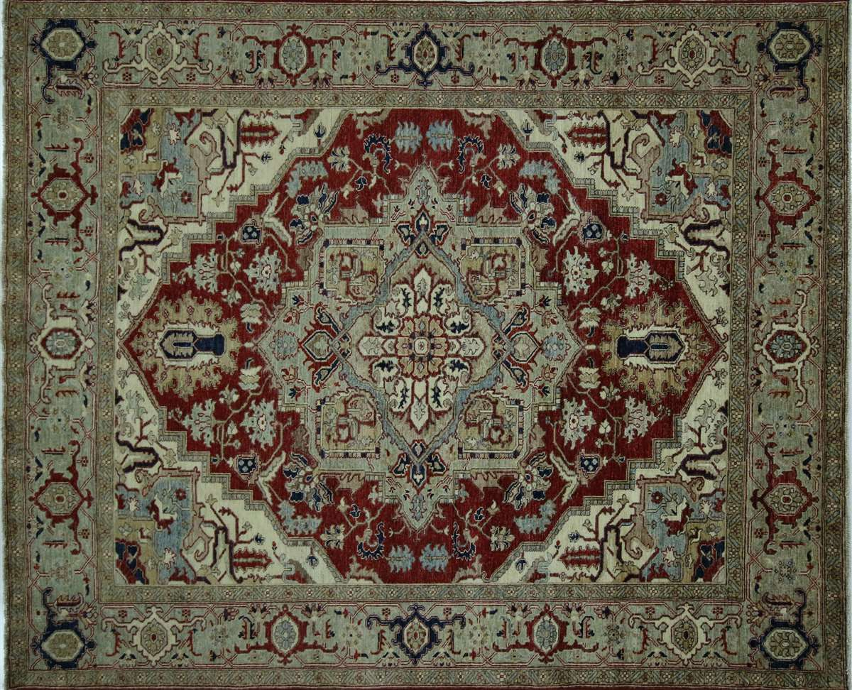 Fine Serapi Handmade Wool Area Rug 8 8 X 12 2 Wool Area Rugs Buying Carpet Red Carpet Runner