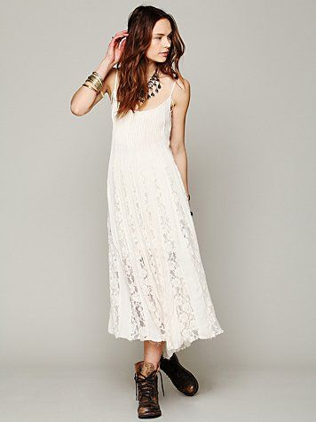 Free People Free People FP ONE Victorian Lace Dress