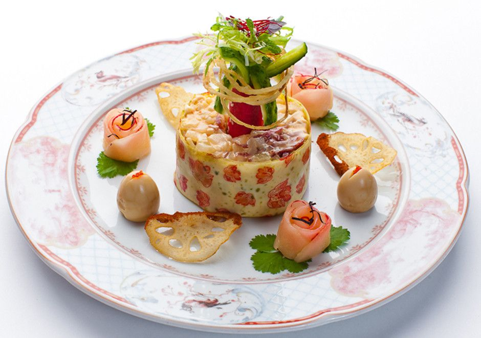 временем необычная подача салатов в ресторанах фото отметить, что