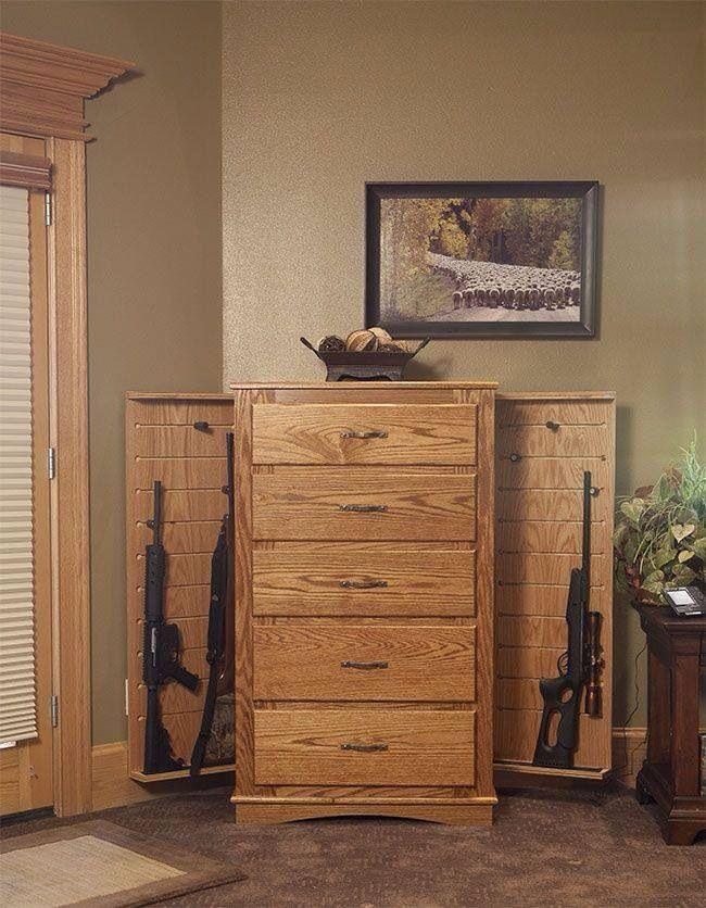 Secret Storage In Your Bedroom Furniture Want Guns Solutions Pinterest Design Och