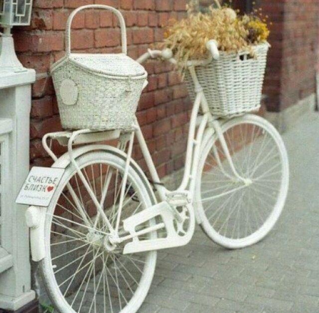 White+my bike+ridding