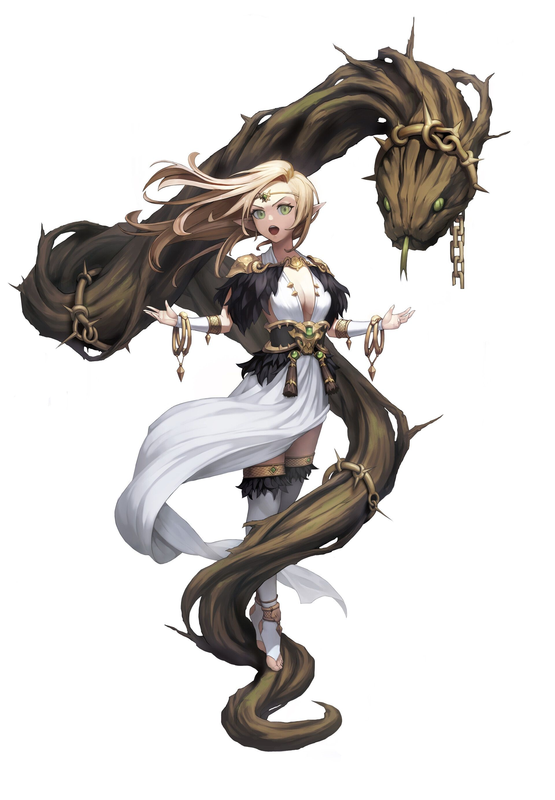 Pin by Tomeisha Moriley on RPG female character 20   Fantasy ...