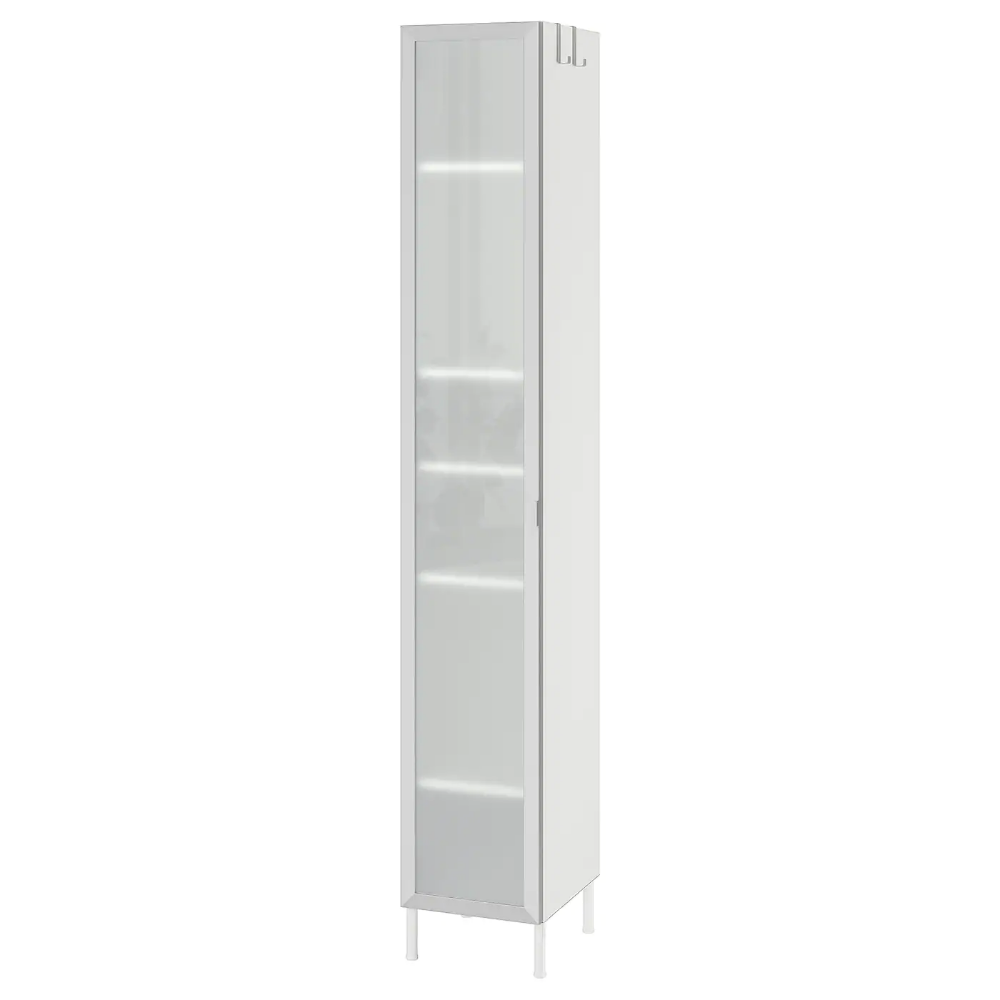 Lillangen Hochschrank 1 Tur Aluminium Ikea Osterreich Hochschrank