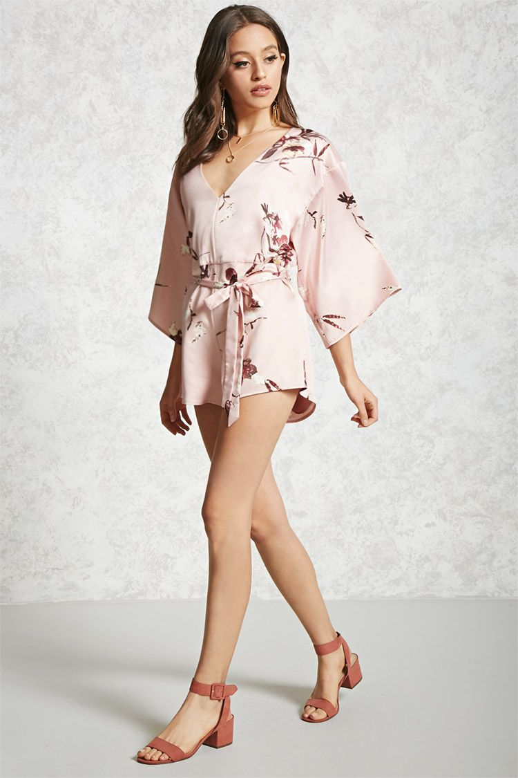 aebf461a129 Romper Flores– Contemporary - Mujer - Vestidos - 2000323053 - Forever 21 EU  Español
