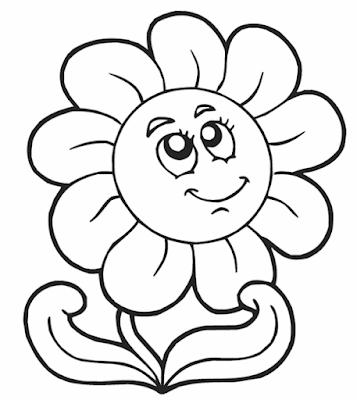 صور رسومات تلوين للاطفال رسومات كرتون للتلوين صور بنات وعرائس واميرات واولاد لتلوين Sunflower Coloring Pages Spring Coloring Pages Flower Coloring Pages