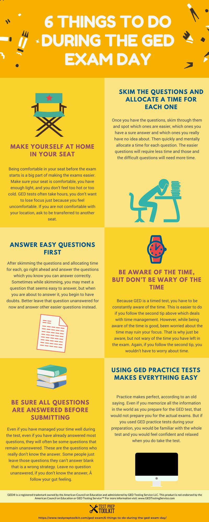New GED infographic 🔥 This infographic has some tips that will help you  during the