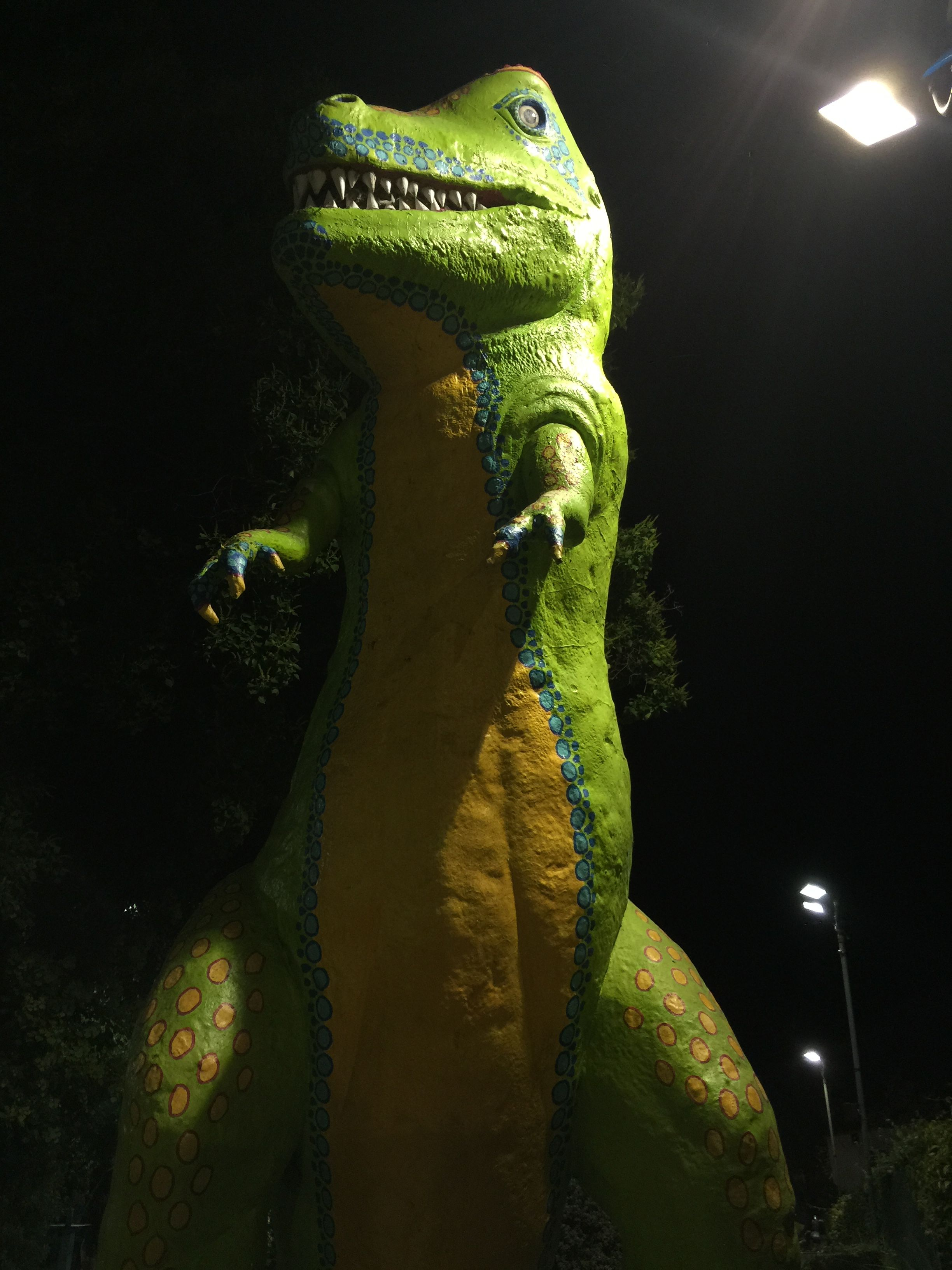 I love this TRex at Peter Pan MiniGolf. There's a