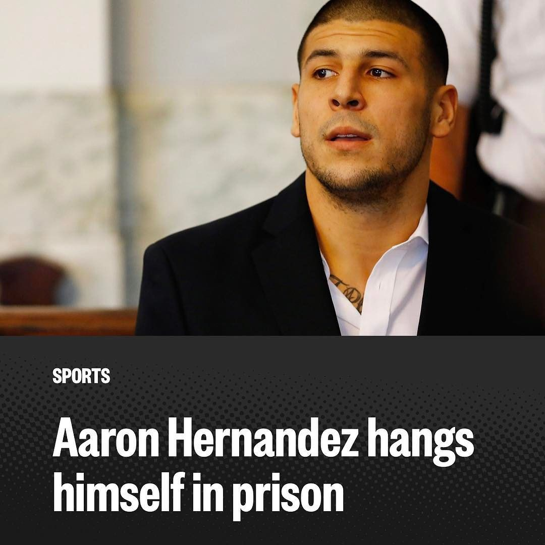 Pijamadigitalnews Former New England Patriots Star Aaron Hernandez Killed Himself In His Prison Cell Early Wednesday While Serving A New England Patriots New England Patriots Logo New England