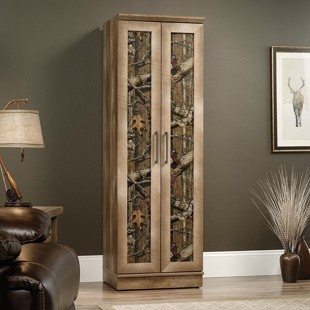 Tall East Canyon Storage Cabinet In