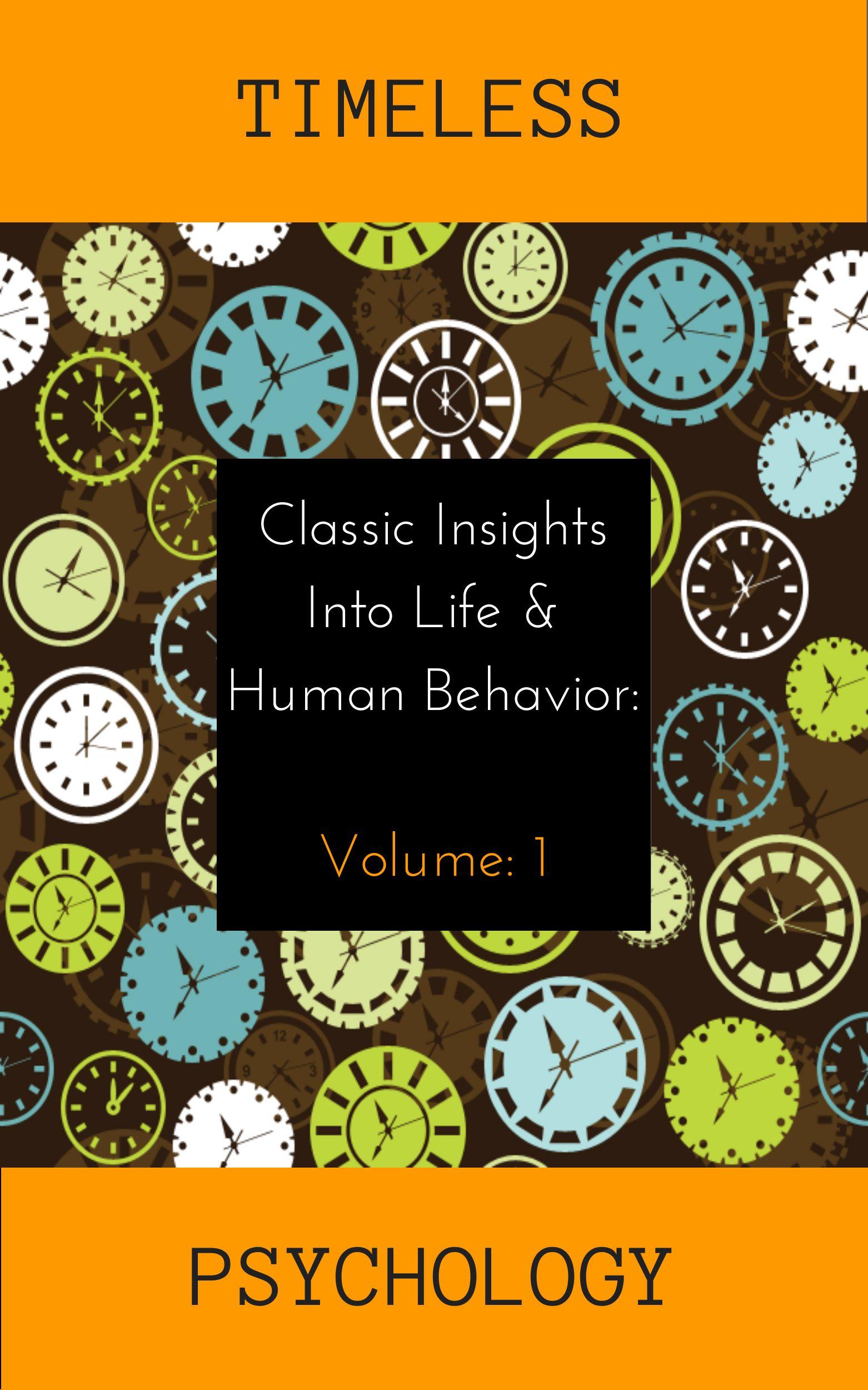 The Free Psychology Books Initiative Psychology Books Psychology Human Behavior