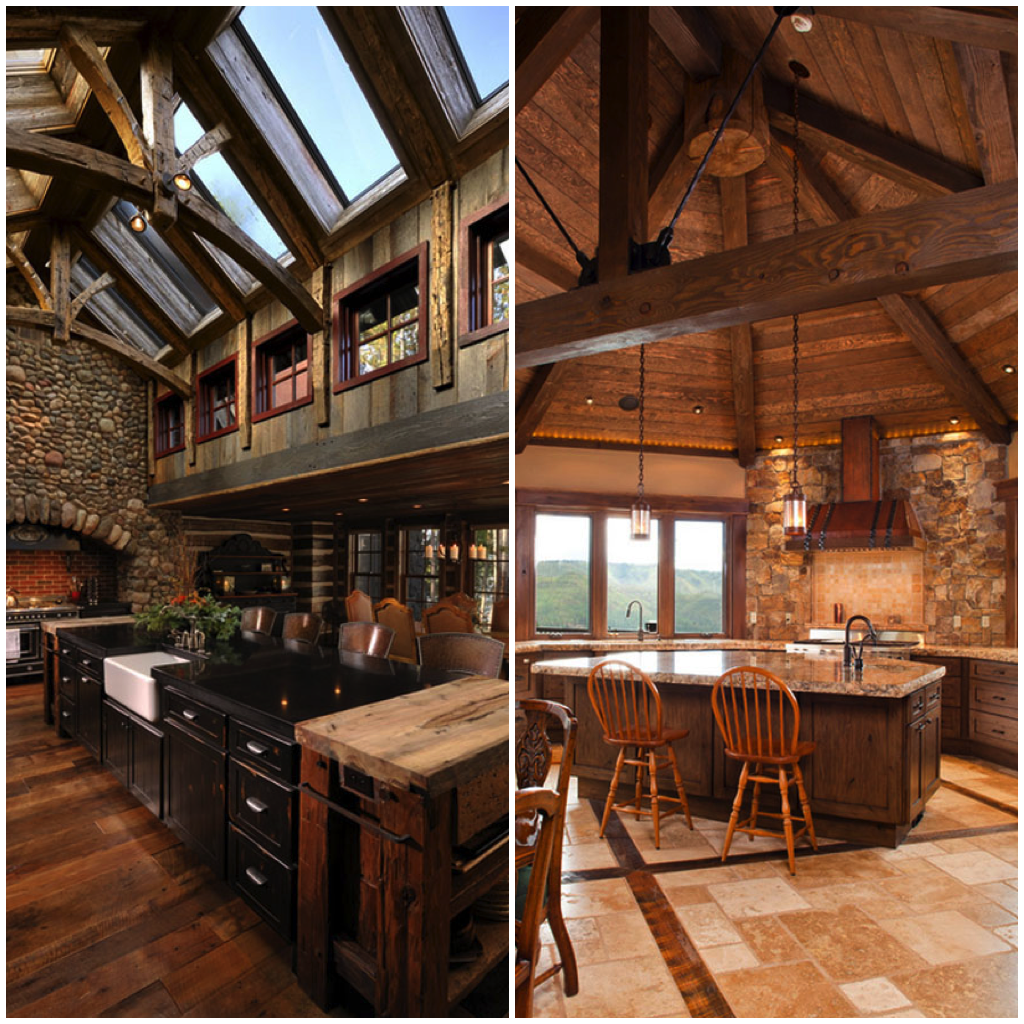 cozy rustic kitchens worthy of a mountain lodge rustic on modern cozy mountain home design ideas id=25481