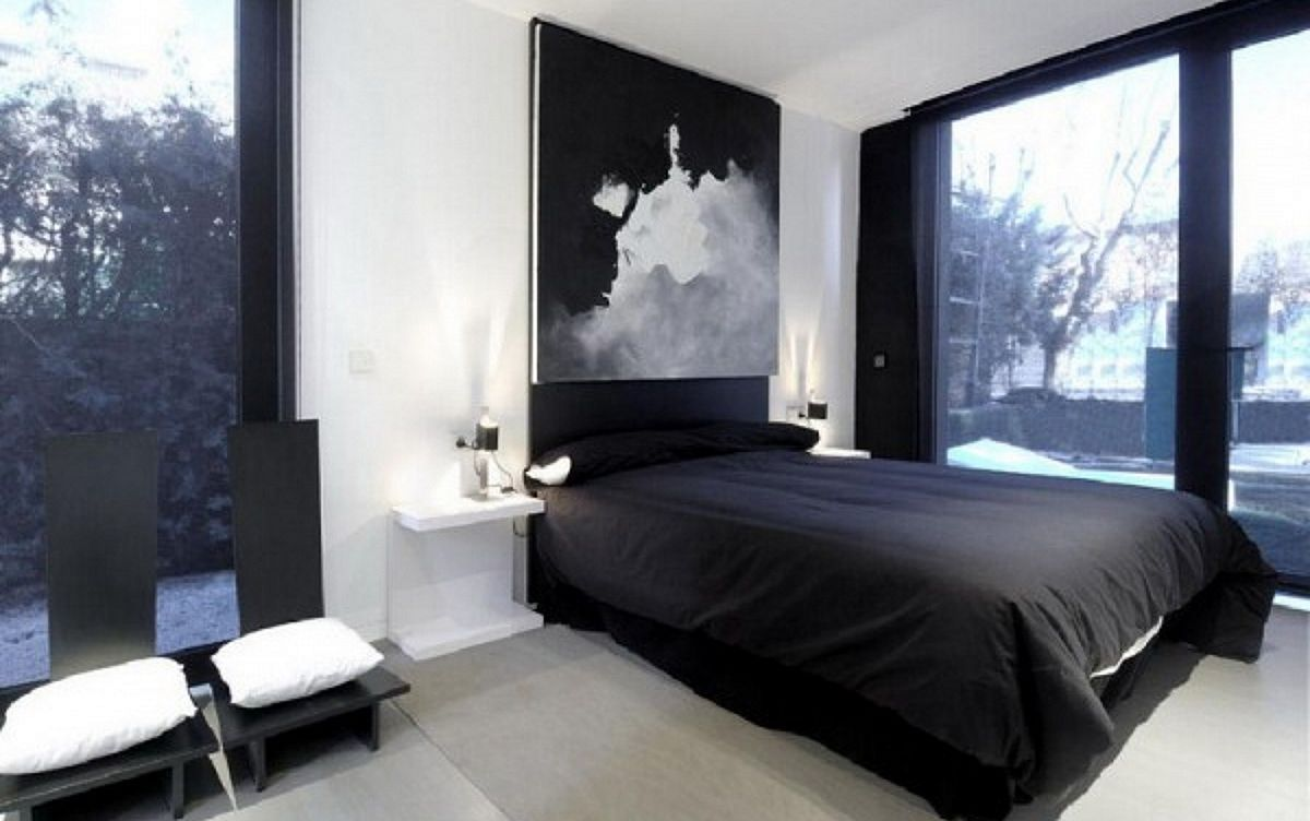 10 Cool And Modern Black Bedroom Design Ideas Grey Bedroom
