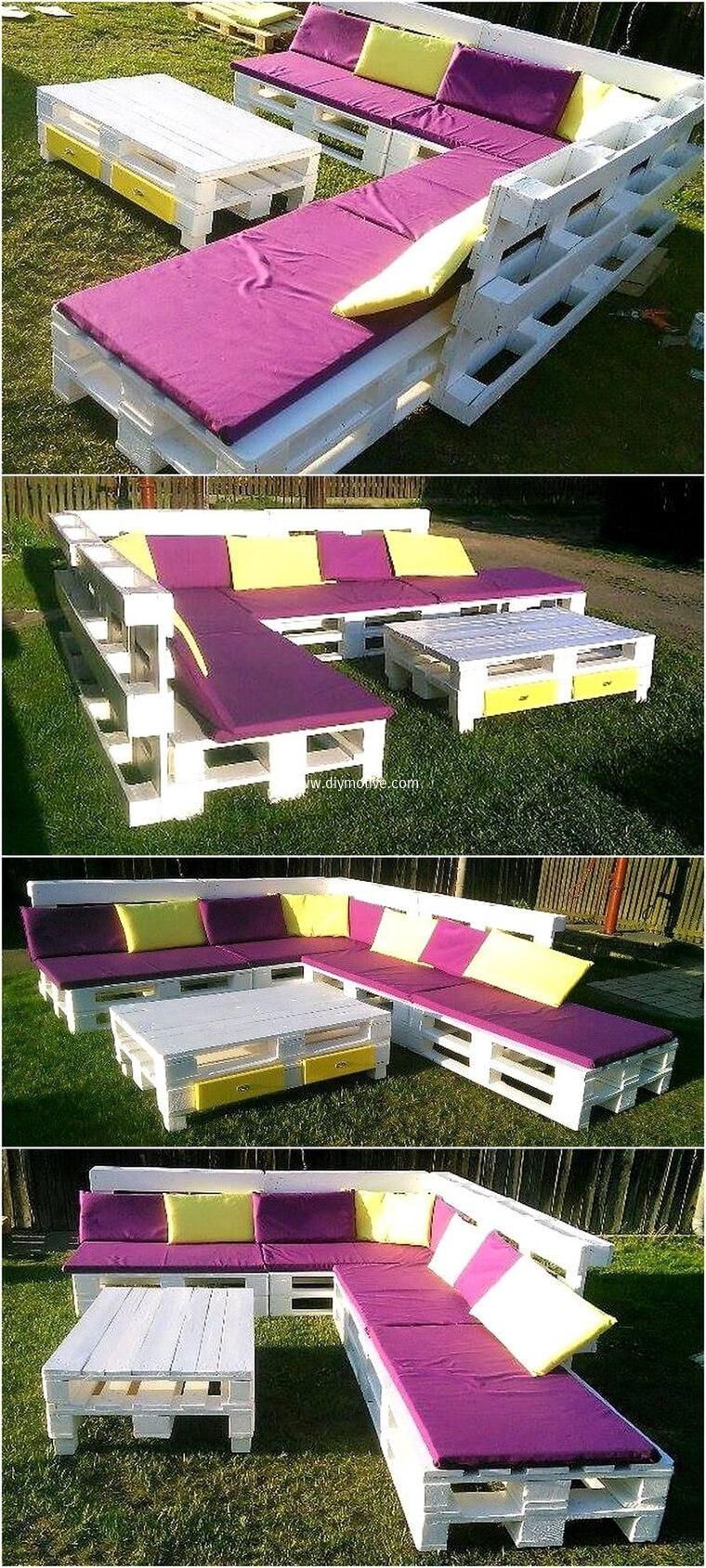 Brilliant Pallets Repurposing Ideas For Your Home Improvement