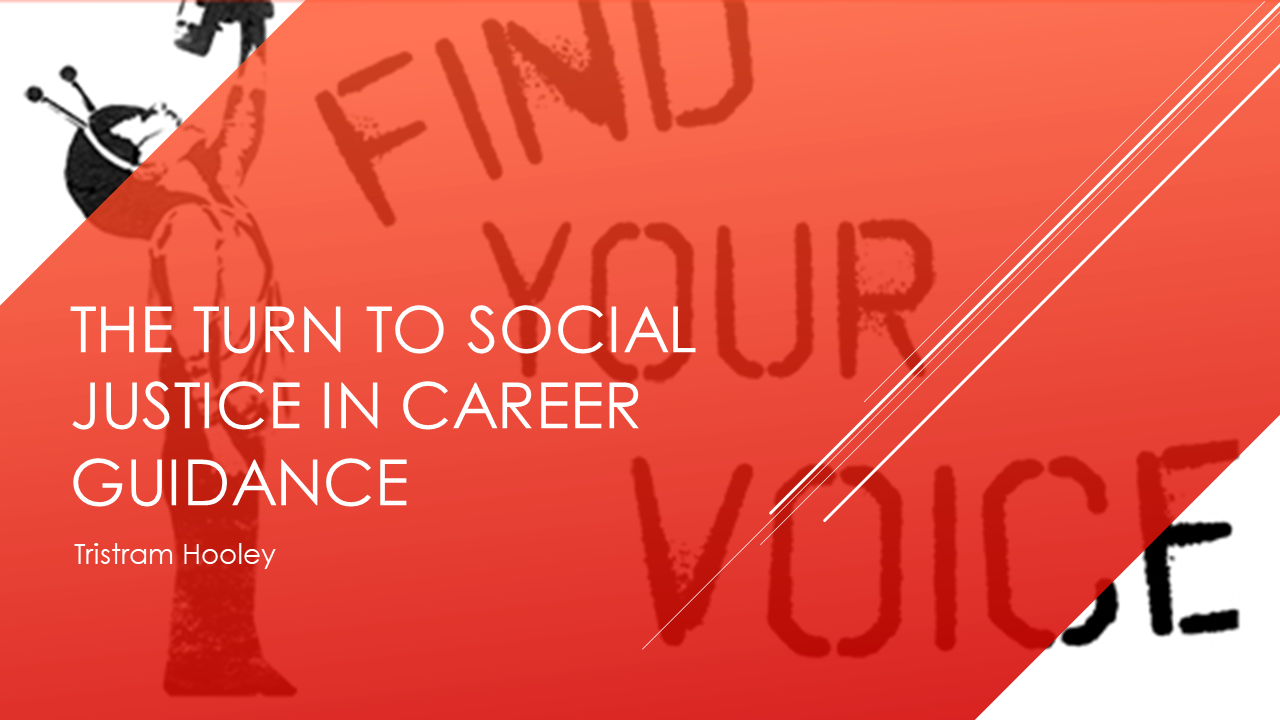 The Turn To Social Justice In Career Guidance Career Guidance Social Justice Career