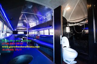 Pin By Party Bus For Atlanta On Party Bus Rental Pinterest Party Bus - Party bus with bathroom