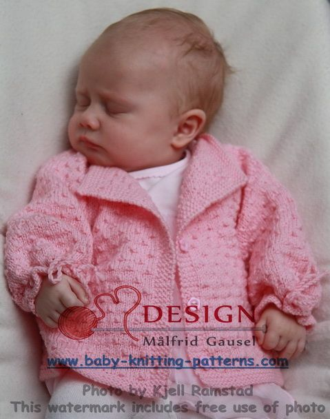gratis-baby-strikkeoppskrifter | Vick | Pinterest | Accesorios para ...