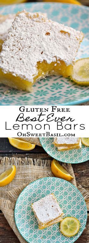 Gluten Free Lemon Bars  - Sweet Tooth -