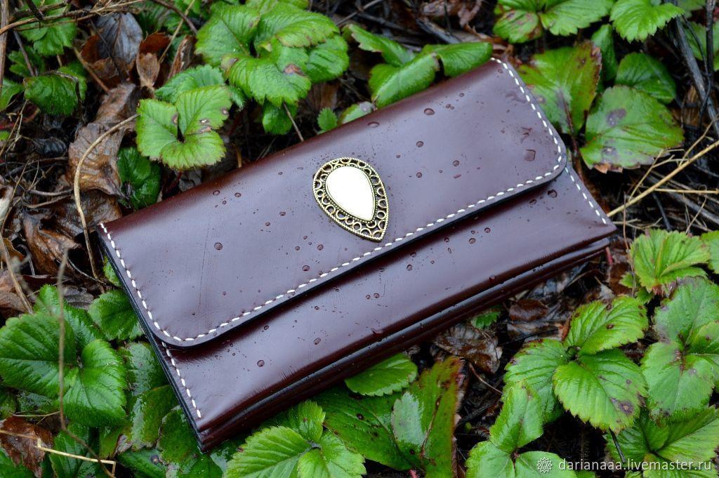 9ebbb757b5b7 Купить Кошелёк женский кожаный #6 - натуральная кожа, кожаный кошелек, кошелек  женский