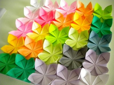 Harujion Design Modern Origami Wall Decor