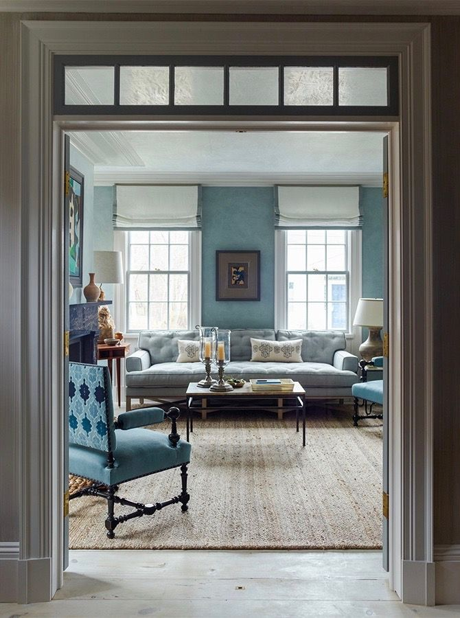 Sag Harbor House By P T Interiors With Images: Small Space Living Room, Home, Living Room Decor
