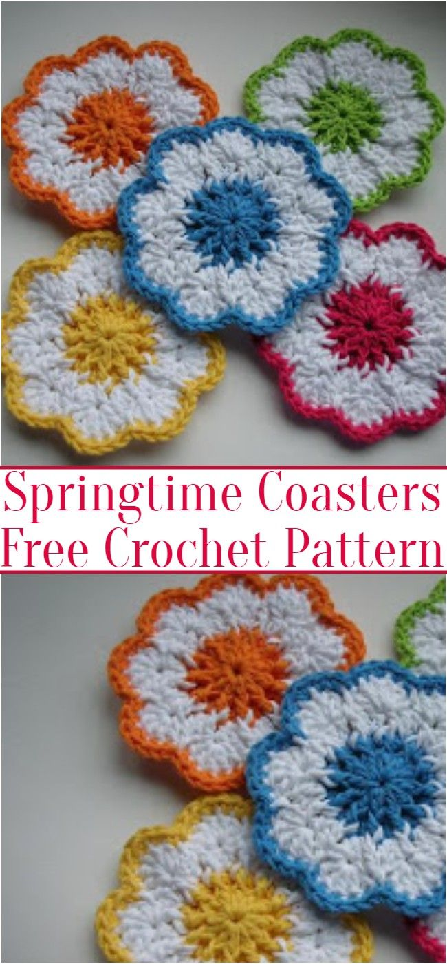 Spring Time Free Crochet Patterns #eastercrochetpatterns