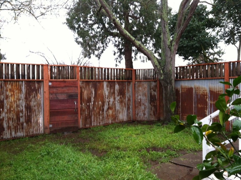 Fence From Repurposed Material Robert Devlin Special